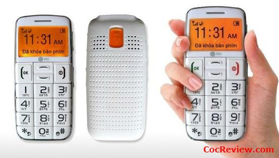 Điện thoại chữ to là thiết kế của điện thoại cho người già