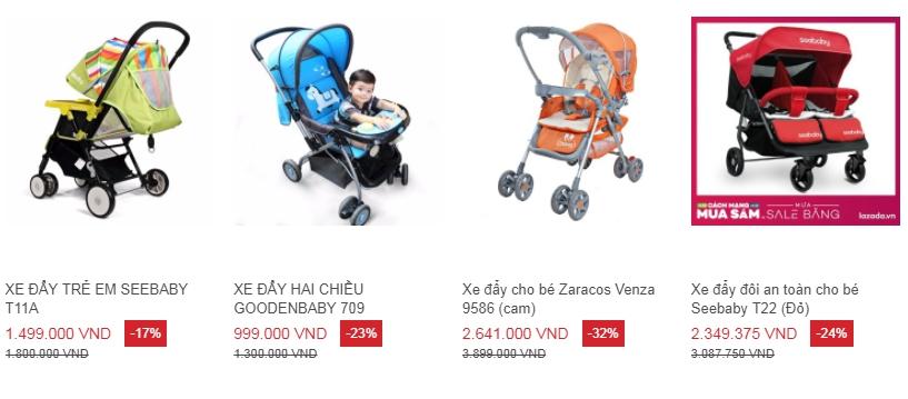 Xe đẩy em bé loại nào tốt và đáng dùng nhất hiện nay?