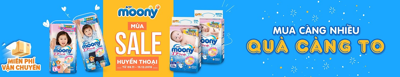 Sale tả Moony