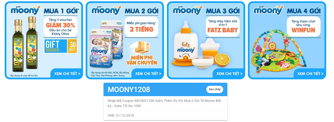 Sale tả Moony 12.12