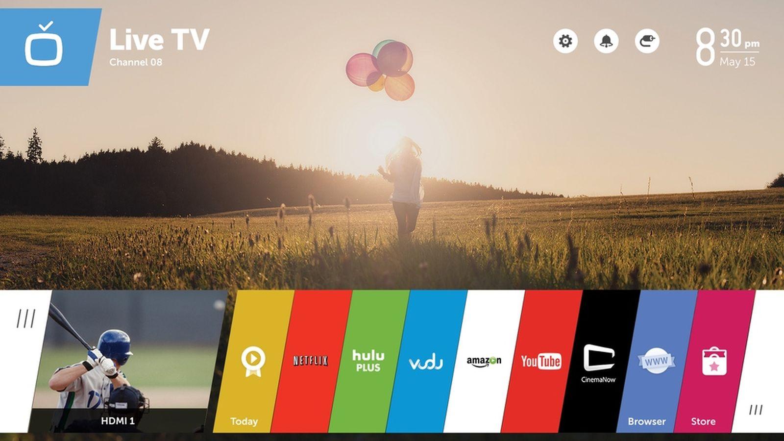 hệ điều hành webos tiêu chí chọn smart tv năm 2019